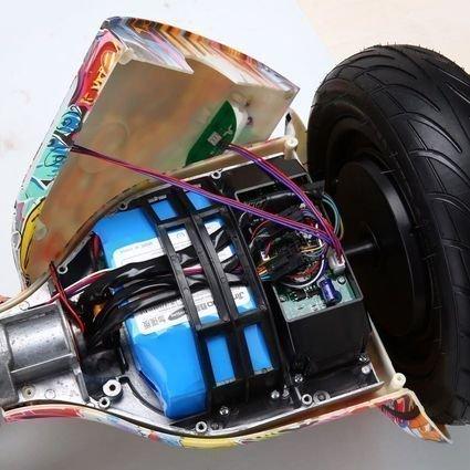 Гироскутер Smart Balance Галактика / Млечный путь 10,5 APP самобалансир (Samsung)