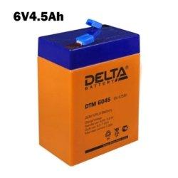 Аккумулятор 6V 4.5AH DELTA DTM